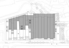 Finish Construction on Zamet Sports and Cultural Center in Croatia Cultural Center, Croatia, Floor Plans, Cases, Construction, It Is Finished, Culture, Landscape, Architecture