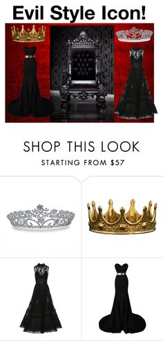 """Evil Style Icon!"" by taken-by-fictional-character ❤ liked on Polyvore featuring Bling Jewelry, Seletti, Elie Saab, women's clothing, women, female, woman, misses and juniors"