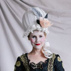 Be Marie Antoinette for Halloween by learning how to make this paper wig. Comes complete with a make up tutorial.