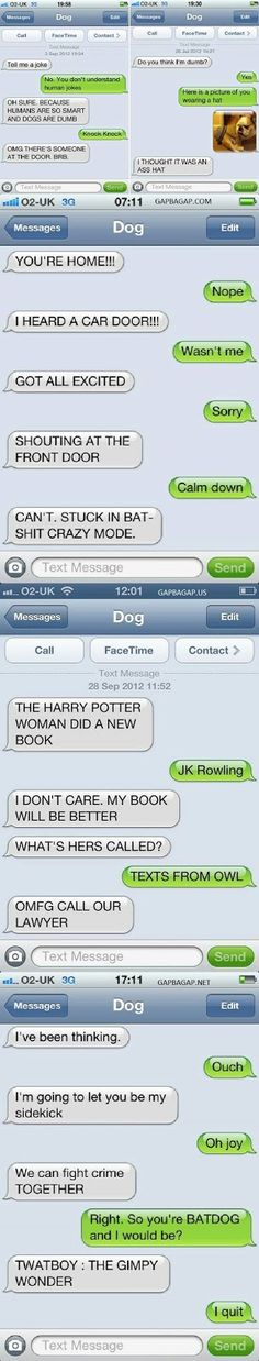 Top 10 Hilarious Texts Messages ft. Funny Dogs