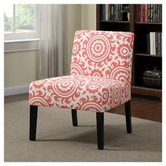 Noah Chair - Coral (Pink) Medallion - Handy Living