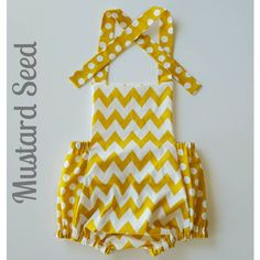 Check out this item in my Etsy shop https://www.etsy.com/listing/252554864/mustard-seed-romper-baby-romper-girl