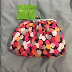 NWT Vera Bradley coin purse Vera Bradley kiss kiss coin purse. Pixie confetti pattern. New with tags. Very cute! Vera Bradley Accessories
