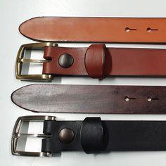 Ceinture cuir marron femmes ou hommes accessoire maroquinerie fait /à la main une marque By Mode France.