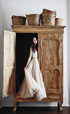 Handcarved Toren Armoire   | Pinned by topista.com