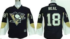 Youth Pittsburgh Penguins 18 James Neal Black 2014 Stadium Series Hockey NHL jerseys $32.0