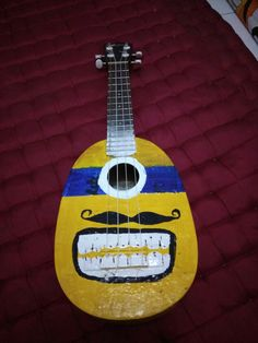 Ukulele minion father