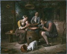 Jan Steen, Prayer before the Meal
