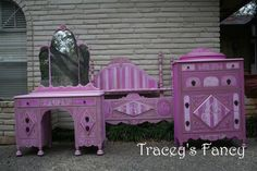 I'm in love:) I believe I just found the perfect big girl bedroom set for Mackenzie!!! Although that's a few years away.