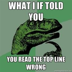Philosoraptor...It took me a minute there to notice that I and If were switched