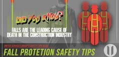 Safety Tips: Fall Protection Safety Tips, Welding, Fossil, Construction, The Unit, Teaching, Fall, Blog, Building