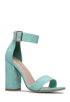 68a2a9b50a6 AUDREY BLOCK HEEL  shoedazzle Blue Block Heels