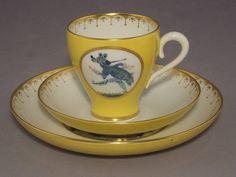 Meissen cup with saucers  Adventures of Baron Munchausen