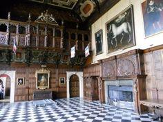 Great Hall at Hatfield House (Elizabeth I favorites residence)