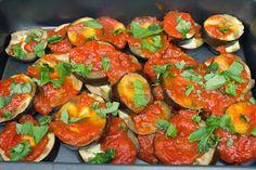 El Baúl de las delicias: Berenjenas al a napolitana Ratatouille, Bruschetta, Queso, Ethnic Recipes, Ideas, Food, Kitchen Stuff, Spanish Cuisine, Baked Vegetables