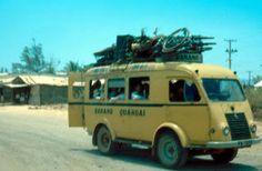 Xe đò Renault Goelette Đà Nẳng Quảng Ngãi 1966-67?