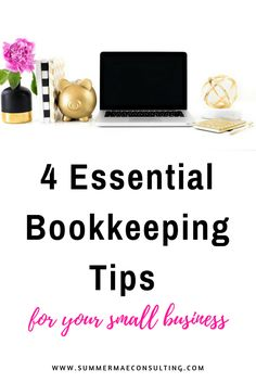 business finance 4 Essential Bookkeeping Tips for your Small Business Starting A Business, Business Planning, Business Tips, Online Business, Business Goals, Craft Business, Business Management, Management Tips, Business Entrepreneur