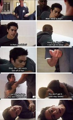 Dylan O'Brien as Stiles Stilinski #TeenWolf #VOID Stiles #Stiles Stilinski #SaveTeenWolf