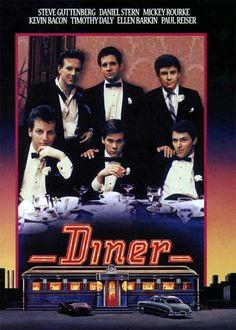 Diner (1982) - Steve Guttenberg, Mickey Rourke, Kevin Bacon, Ellen Barken, Daniel Stern, Tim Daly