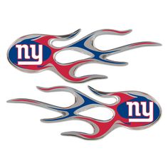 New York Giants Micro Flames Graphics