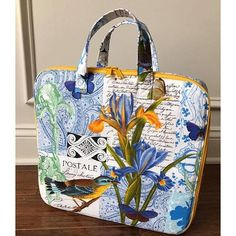 Amethyst Project Bag, pattern by Sew Sweetness