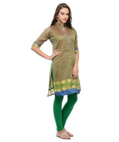 Buy cotton and chanderi silk kurta online at best price in India