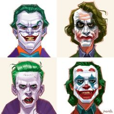 Joker or Joker is a supervillain from DC Comics archenemy of the hero Batman ~ . - Joker or Joker is a supervillain from DC Comics archenemy of the hero Batman ~ Tips & More - Le Joker Batman, Harley Quinn Et Le Joker, Joker Comic, Gotham Batman, Batman Art, Batman Robin, Joaquin Phoenix, Arkham Asylum, Arkham City