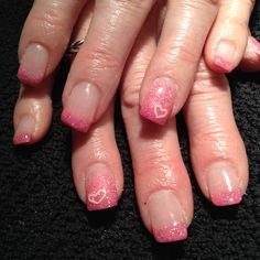 V-day nails  Facebook : Hairstyling and nails by Julie