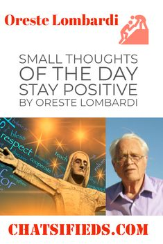 Small thoughts of the day. Positive and inspirational small thoughts of the day by Oreste Lombardi. These small thoughts will Inspire your life. Righteousness Of God, When Life Gets Hard, English Exercises, Answer To Life, Bad Friends, Motivational Stories, Successful Relationships, Love Others, Good Cheer