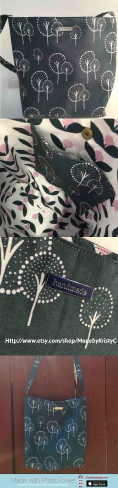 Comfortable Slouch bag made with Lotta Jansdotter fabric  https://www.etsy.com/listing/278404084/slouch-bag-hobo-bag-shoulder-bag-lotta