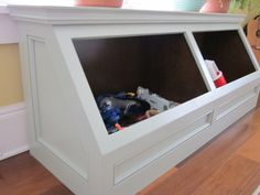Child's Toy Chest Love this idea!
