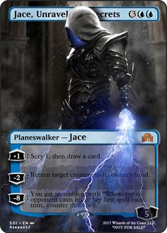 Jace, Unraveler of Secrets If you have any suggestions for a card you would like to see let me know.