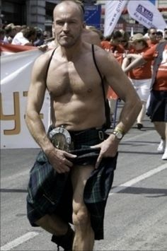 Community Post: 40 Shirtless Guys In Kilts I've already pinned almost all of these guys somehwere on my three kilt boards--LOL WildEyedSouthernCelt.com
