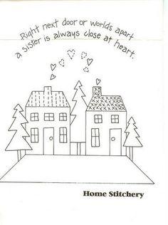 Sister stitchery