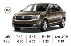Inchiriaza Dacia Logan 2018 - Inchirieri auto Timisoara - West Rent a Car Dacia Logan, E30