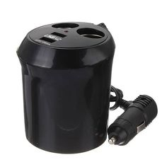 Dual Car Cigarette Lighter Socket DC Power Adapter Charger Splitter  Worldwide delivery. Original best quality product for 70% of it's real price. Buying this product is extra profitable, because we have good production source. 1 day products dispatch from warehouse. Fast & reliable...