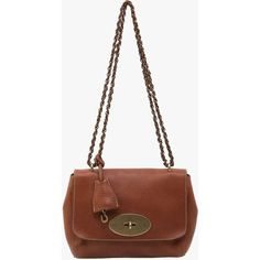 Pre-owned Mulberry Oak Leather Mini Lily Shoulder Bag (488,690 KRW) ❤ liked on Polyvore featuring bags, handbags, shoulder bags, brown, brown leather purse, handbags shoulder bags, white leather handbags, hand bags y leather man bag