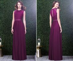 Classic #BridesmaidDress by Dessy (style 2921). Perfect for a garden wedding or an indoor wedding. Elegant.