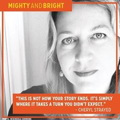 After a divorce and her mother's death, a devastated 26-year-old Cheryl Strayed set off on a 1,000-mile hike along the Pacific Crest Trail by HERSELF. She documented this trek in her bestselling 2012 memoir, Wild, which was later adapted into a movie starring Reese Witherspoon. Life after #divorce can be mighty bright, wouldn't you sa