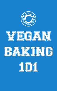 Vegan Baking may sound intimidating, but it can yield extremely tasty results. Be sure to check out Vegan Baking 101 in the Online BlogCon site!