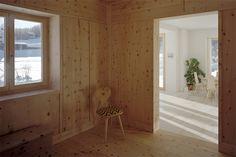 charpié und de pedrini architekten / wohnhaus chapella, berglandschaft