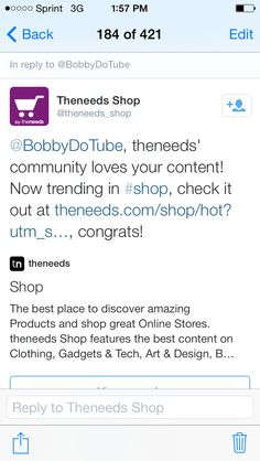 Theneeds Shop web site love's my content and shared it with their community!