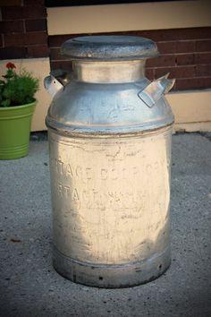 Vintage milk jug . $125