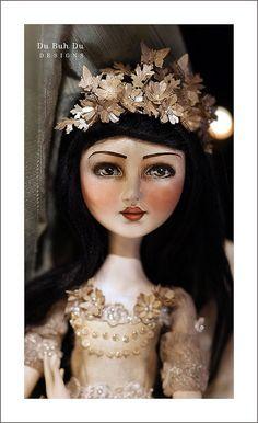 Anastacia Art Doll - Du Buh Du Designs