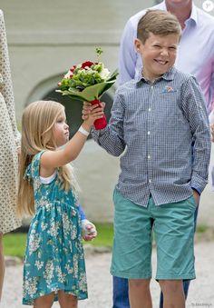 prince Christian la princesse Joséphine