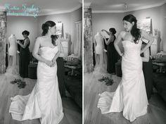 Toronto wedding. Stunning bride getting ready.