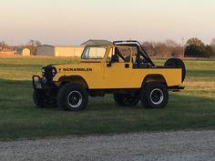 Yellow Jeep Scrambler cj8