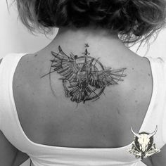 #bird#compass#tattoo#manisa#hasanbozal