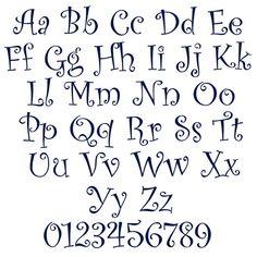 Fancy Fonts Alphabet, Bubble Letter Fonts, Cursive Alphabet, Hand Lettering Alphabet, Fancy Letters, Doodle Lettering, Creative Lettering, Graffiti Lettering, Embroidery Designs
