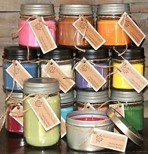 Maple Creek Candles PUMPKIN, VANILLA, BROWN SUGAR, CARAMEL Pick Size and Scent